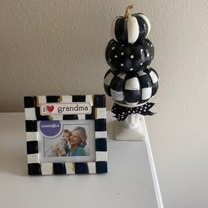 New Hand Painted 6x6 picture frame